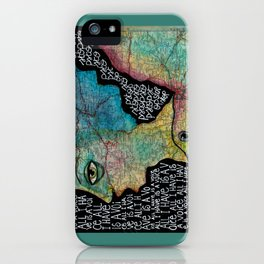 All I have is a voice iPhone Case