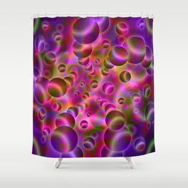 Psychedelic Visions G32 Shower Curtain