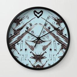 Hand Made Print 1 Wall Clock