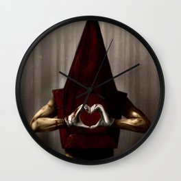 A Lovely Pyramid Head  Wall Clock