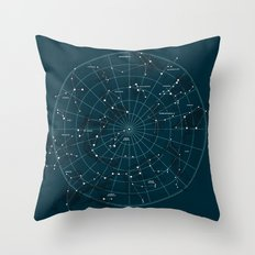 Space Hangout Throw Pillow