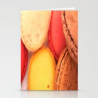 macaroons Stationery Cards featuring Macaroons by alexarayy