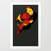 Starks In-Flight 2 Art Print