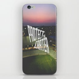 Protect the Carter iPhone Skin