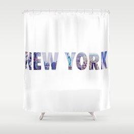 Views of New York Shower Curtain