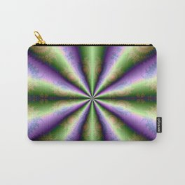10 Cones in Green and Purple Carry-All Pouch