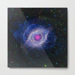 The Helix Nebula Metal Print