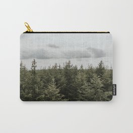 Dutch Forest Tree Tops   Colourful Travel Photography   Veluwe, Holland (The Netherlands) Carry-All Pouch