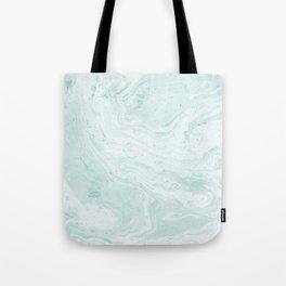 Seaforam Marble Print Tote Bag