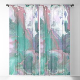 Magic Floral Sheer Curtain