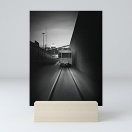 the pursuit Mini Art Print