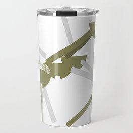 atomium brussels arts Travel Mug