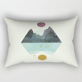 Storm and Calm Rectangular Pillow