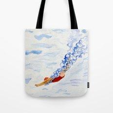Swimmer - diving Tote Bag