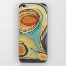 Tree Stump Series 2 - Illustration iPhone & iPod Skin