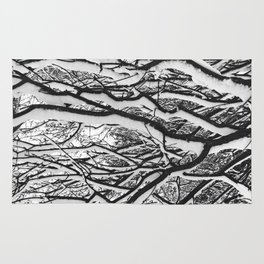 sleepy trees Rug