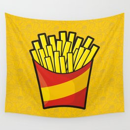 French Fries Wall Tapestry