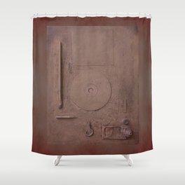 Informel Nostalgia in Post Art Vacuum Shower Curtain