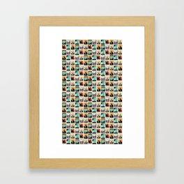 Travel Posters Framed Art Print