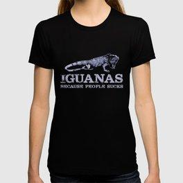 Iguana People Reptile Lizard Bearded Dragon T-shirt