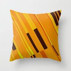 Canopus Orange Throw Pillow