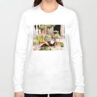 dublin Long Sleeve T-shirts featuring Dublin Flower Shop by Judith Kimber Photography