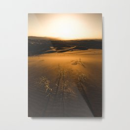 Time Is Golden Metal Print