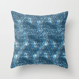 A glitch in time 3 Throw Pillow