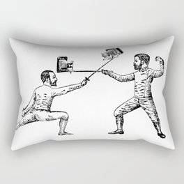 Selfless Nation - Fencers Rectangular Pillow