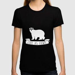 Funny Cool as Fawk Polar Bear T-shirt