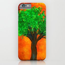 THE FOREVER TREE iPhone Case