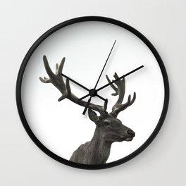 Single Deer Wall Clock