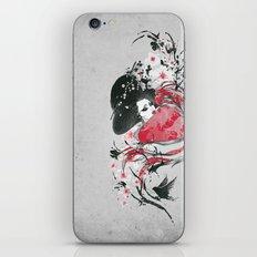 The Geisha iPhone Skin