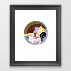Sleeping Sailor Framed Art Print