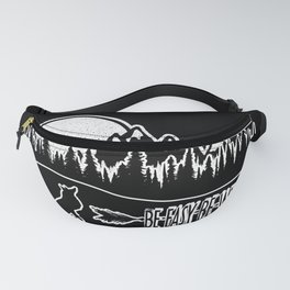 Be Easy Be Fox Fanny Pack