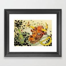 Ideia Noturna Framed Art Print
