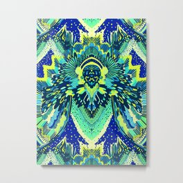 Blue Miami Metal Print