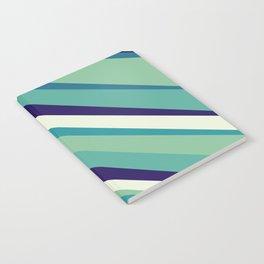 Blue Diagonal : Pattern Notebook