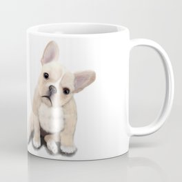 Cream Frenchie Coffee Mug