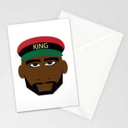 RBG/Pan-African King Stationery Cards
