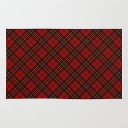 Adorable Red Christmas tartan Rug