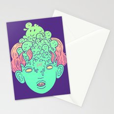 brain parasites Stationery Cards