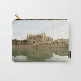 Palma de Mallorca- travel photography- The Cathedral in Palma de Mallorca Carry-All Pouch