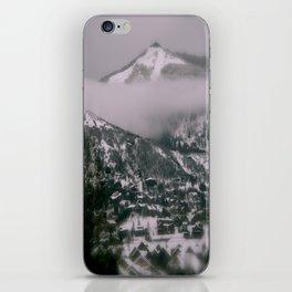 Foggy Blanket iPhone Skin