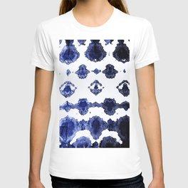 Habotai Shibori Ikat T-shirt