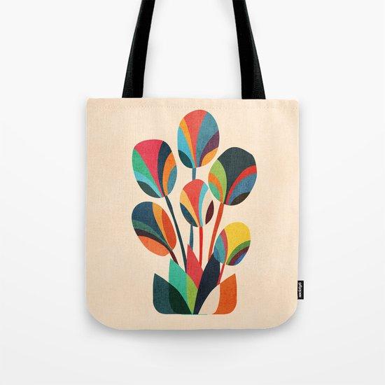 Ikebana - Geometric flower Tote Bag