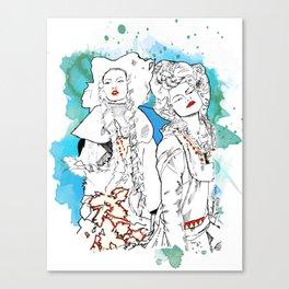Gypsies- Jade Canvas Print