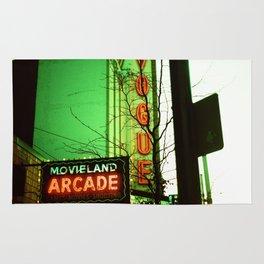 Movieland Arcade, Vancouver Rug
