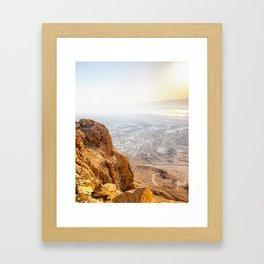 Judean Desrt sunrise Framed Art Print