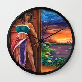 On the other side Wall Clock